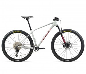 ORBEA ROWER MTB ALMA H50 White-Grey-Red